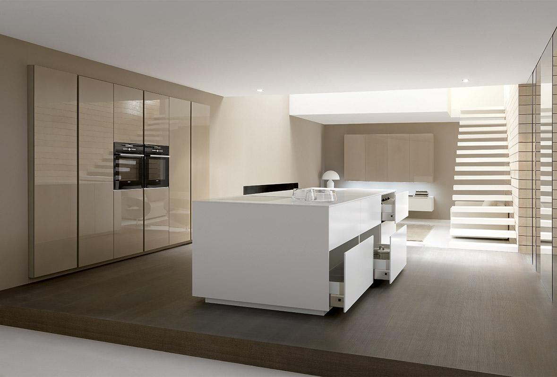 Project studio italiaanse design keukens comprex antwerpen kaaien - Keuken in i ...