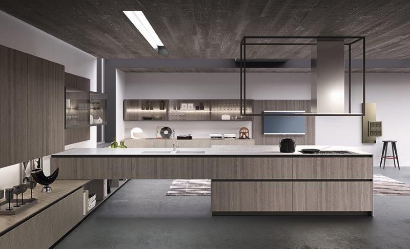 Exclusieve Italiaanse Keukens : Project Studio Italiaanse design keukens Comprex